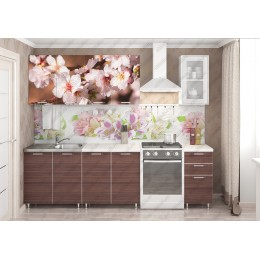 Кухня Цветы/шимо 2,0м