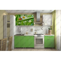 Кухня ЛДСП Лето 1,8 м