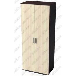 Шкаф 2 створчатый ШК-201 венге-дуб белёный